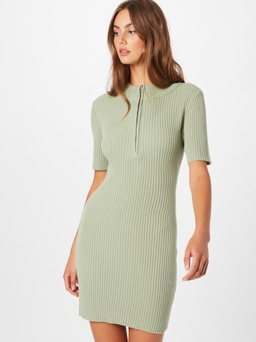 GLAMOROUS Knitted dress in Green