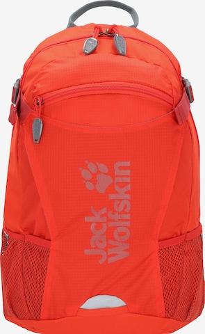 JACK WOLFSKIN Sports Backpack 'Velocity' in Orange