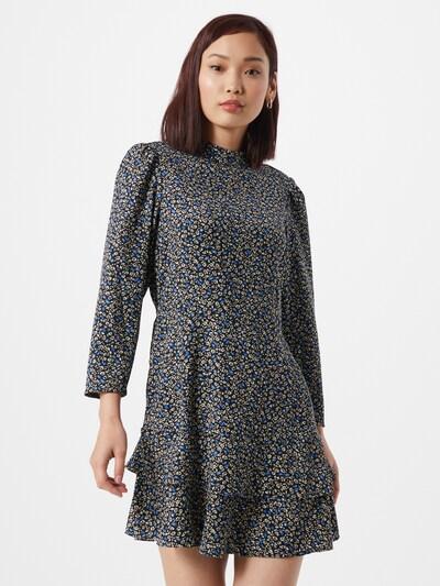 Dorothy Perkins Kleid in blau / schwarz / weiß, Modelansicht