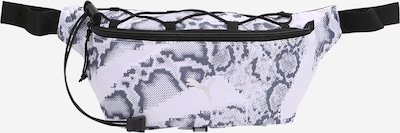 PUMA Sportgürteltasche in grau / schwarz / weiß, Produktansicht