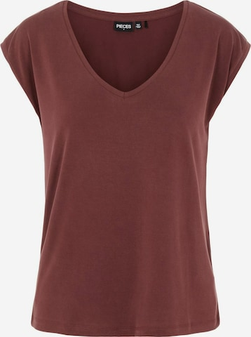 PIECES Shirt 'Kamala' in Red