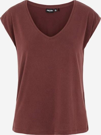 PIECES T-Shirt 'Kamala' in dunkelrot, Produktansicht