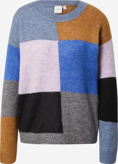 ICHI Sweater 'Ihkamara' in Blue / Grey / Pink / Black, Item view