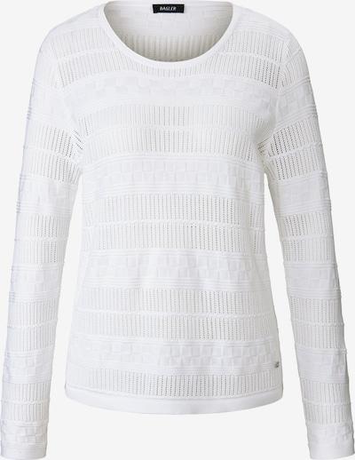Basler Pullover in grau / weiß, Produktansicht