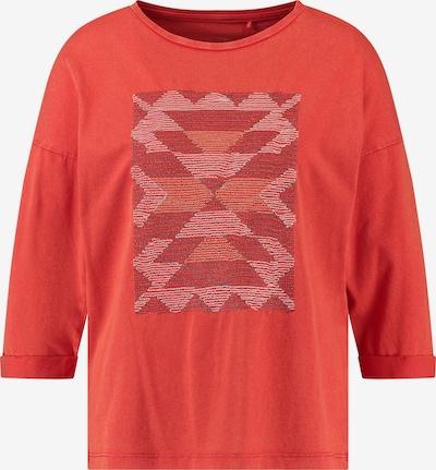 TAIFUN Shirt in rot / dunkelrot, Produktansicht