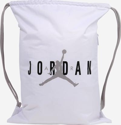 Jordan Laukku 'JAN' värissä harmaa / musta / valkoinen, Tuotenäkymä