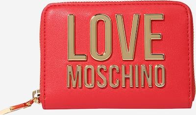Love Moschino Портмоне в злато / червено, Преглед на продукта