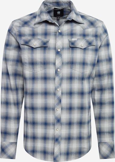 G-Star RAW Overhemd in de kleur Blauw / Grijs / Wit, Productweergave