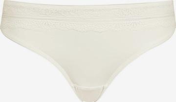 HUBER Taillenslip ' Micro Lace ' in Weiß