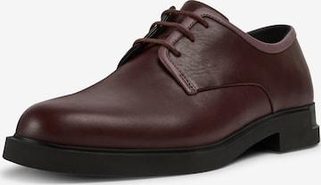Chaussure à lacets 'Twins' CAMPER en rouge
