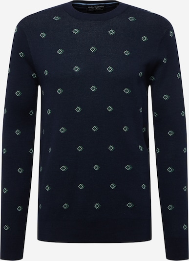 SCOTCH & SODA Pullover in navy / mint / grasgrün, Produktansicht