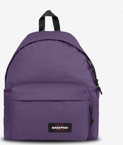 EASTPAK Sac à dos 'Padded Pak'r' en violet / rouge / noir / blanc, Vue avec produit