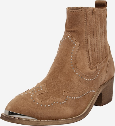 PAVEMENT Kovbojské boty 'Ruth' - hnědá / stříbrná, Produkt