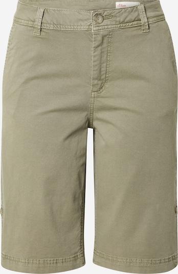 Pantaloni s.Oliver pe oliv, Vizualizare produs