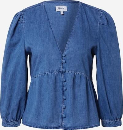 ONLY Bluse 'DAISY' in blue denim, Produktansicht