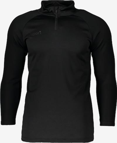 UHLSPORT Sweatshirt in schwarz, Produktansicht