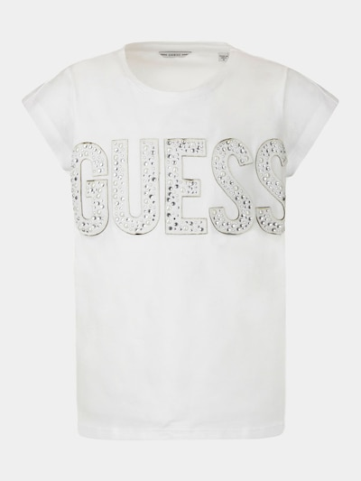 GUESS KIDS T-Shirt in weiß, Produktansicht