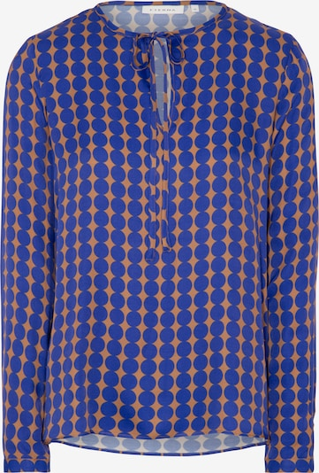 ETERNA Bluse in blau / braun, Produktansicht