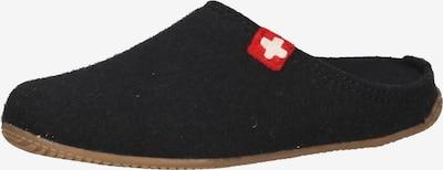 Living Kitzbühel Pantoufle en rouge / noir / blanc, Vue avec produit