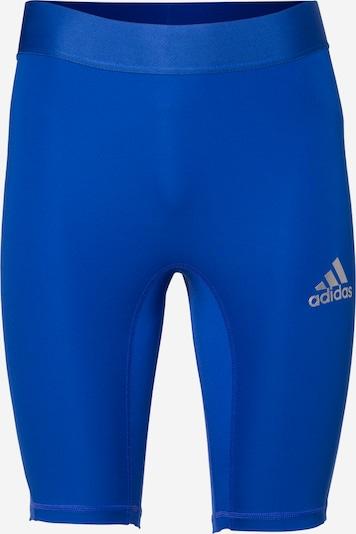 ADIDAS PERFORMANCE Sous-vêtements de sport en bleu / argent, Vue avec produit