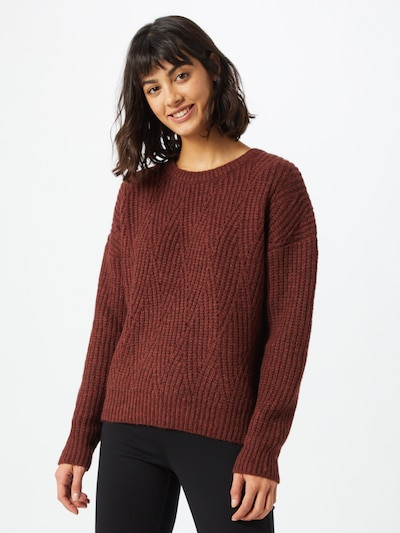 ABOUT YOU Pullover 'Nadia' in braun, Modelansicht