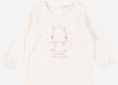 UNITED COLORS OF BENETTON Тениска в розе / бяло, Преглед на продукта