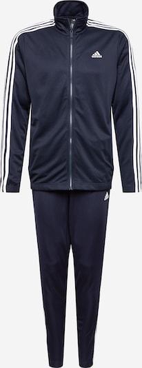 ADIDAS PERFORMANCE Trainingsanzug in dunkelblau / weiß, Produktansicht