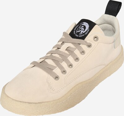 DIESEL Sneakers laag 'CLEVER' in de kleur Beige, Productweergave