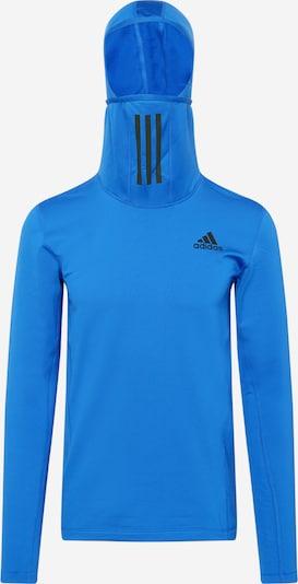 ADIDAS PERFORMANCE Funktionsshirt in blau / schwarz, Produktansicht