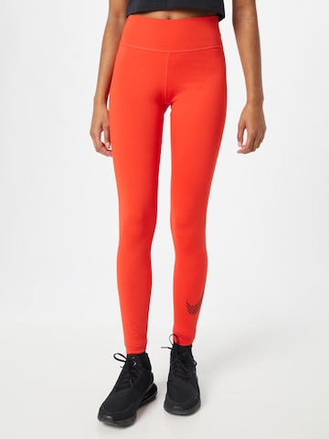 NIKE Workout Pants in Red