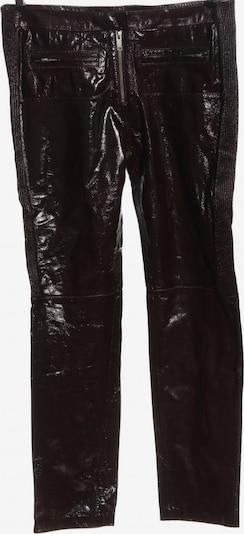 H&M Lederhose in XL in schwarz, Produktansicht