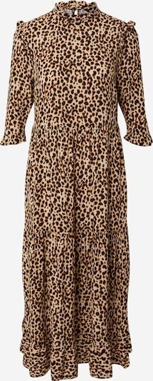 NEW LOOK Kleid in beige / braun / schwarz, Produktansicht