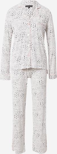 PJ Salvage Pyjama in beige / rosa / schwarz, Produktansicht