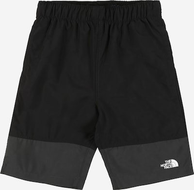 THE NORTH FACE Outdoorshorts in anthrazit / schwarz, Produktansicht