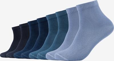 s.Oliver Socken in blau / dunkelblau / petrol / schwarz, Produktansicht