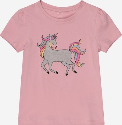 NAME IT Shirt 'BEINA' in mischfarben / pink, Produktansicht
