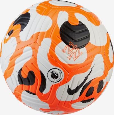 NIKE Fußball in orange / neonorange / weiß, Produktansicht