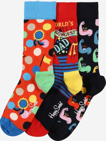 Happy Socks Socks 'Father´s Day' in Mixed colours