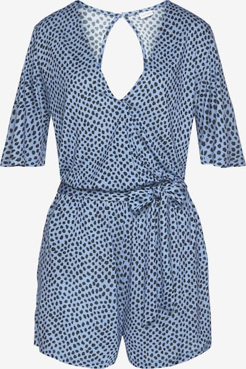 LASCANA Ολόσωμη φόρμα σε μπλε / λευκό, Άποψη προϊόντος