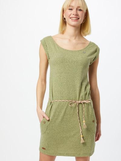 Rochie de vară 'Tag' Ragwear pe oliv, Vizualizare model