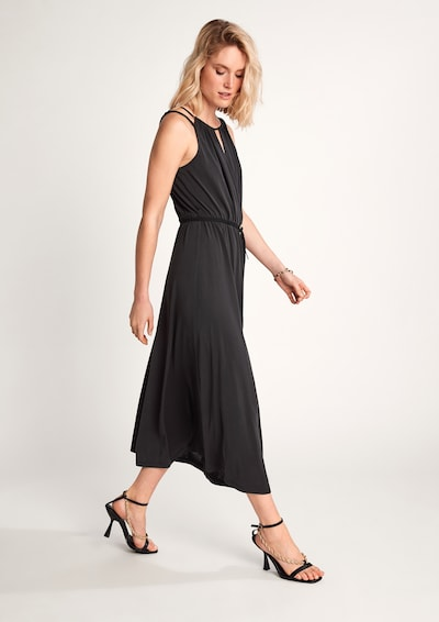 COMMA Kleid in schwarz, Modelansicht