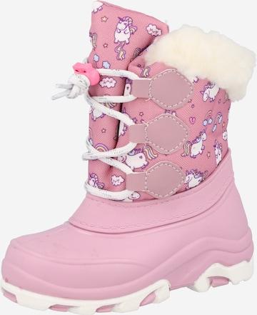 BECK Snowboots in Pink