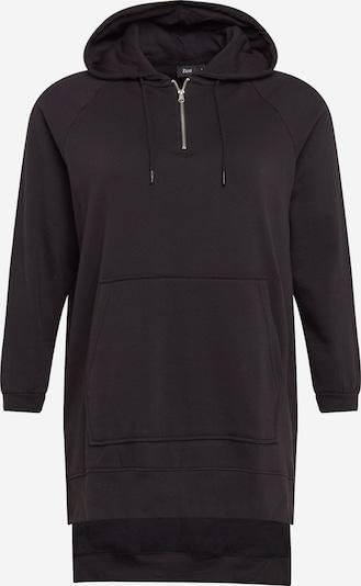 Zizzi Jurk 'MIMA' in de kleur Zwart, Productweergave
