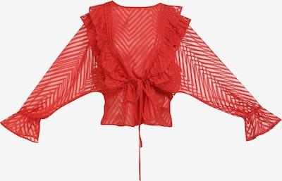myMo ROCKS Bluse in rot, Produktansicht