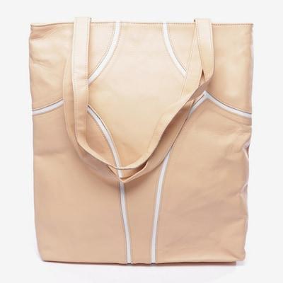 Maisonnoée Shopper in One Size in beige / weiß, Produktansicht