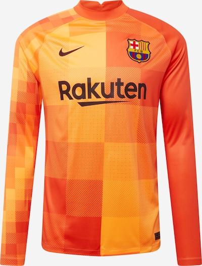 NIKE Maillot 'FC Barcelona 2021/22' en bleu / jaune d'or / orange, Vue avec produit