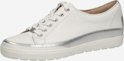 CAPRICE Sneaker in creme / silber, Produktansicht