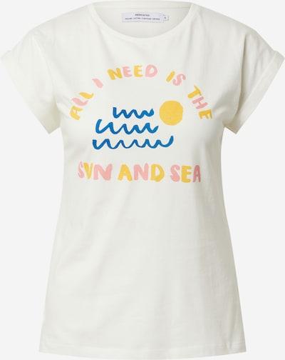 DEDICATED. Camiseta 'Visby Sun and Sea' en azul / amarillo / rosa / blanco, Vista del producto