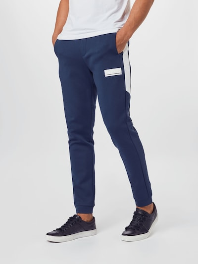 BOSS ATHLEISURE Trousers 'Halvo' in navy, View model