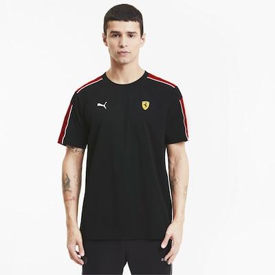 PUMA Shirt 'Scuderia Ferrari Race T7' in schwarz: Frontalansicht